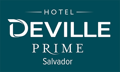 Logo Hotel Deville Prime Salvador_Branco